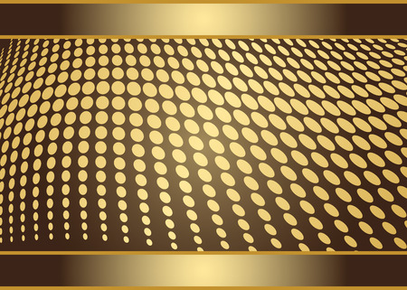 Creative business golden card templates with metallic balls and place for text, eps 8