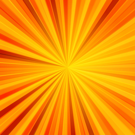 Bright abstract background with sunbeams. Vector image. Eps 10