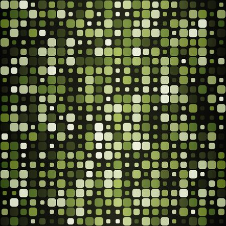 Seamless pattern of squares with rounded corners. Ilustrace