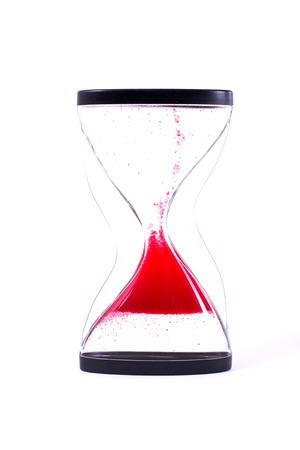 sand timer: Sand Timer Stock Photo