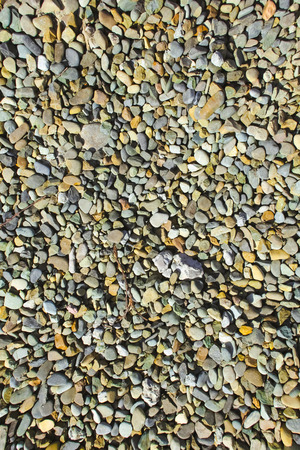 gravel for background at day photo