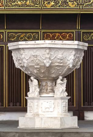 Il battistero storico di Danzica cattedrale (Danzica) in Polonia
