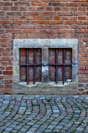 Bricked up prison  photo