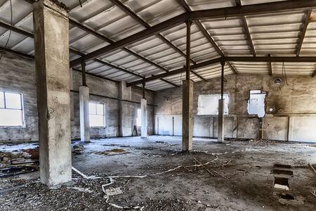 Abandoned factory photo