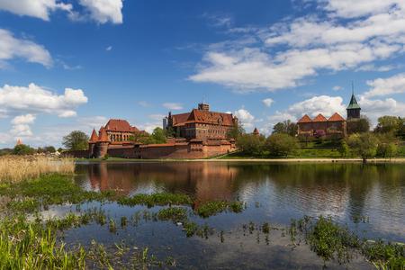 teutonic: Teutonic Knights castle in Malbork, Poland