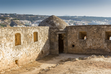 Fortress in Rethymno, Crete in Greece