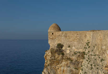 rethymno: Fortress in Rethymno, Crete in Greece