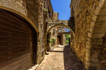 スペイン ・ カタロニアの仲間の中世の町