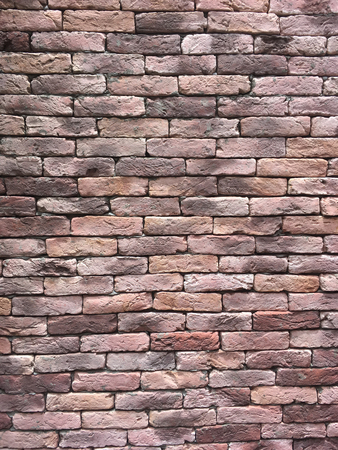 Brick wall as background.
