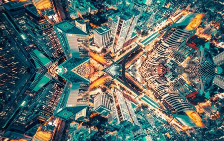 Bangkok art abstract graphic content Stock Photo