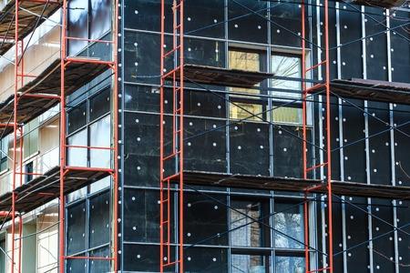 komercyjnych: Izolacja Zewnętrzna fasada budynku i ściany w budowie