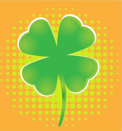 st patric clover Stock Vector - 9800926