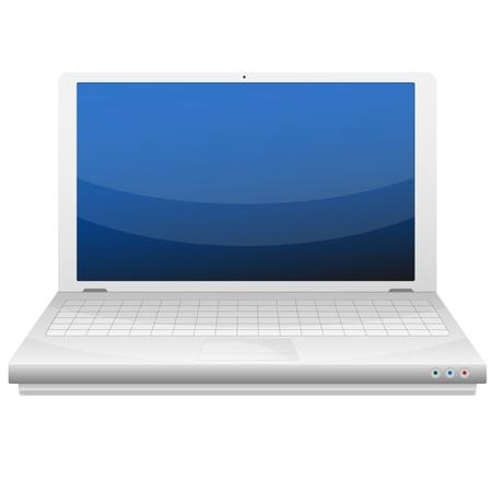 �cran plat: ordinateur portable