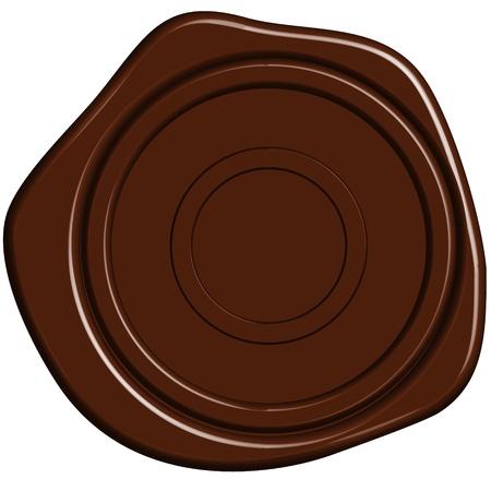tampon cire: cachet de cire d'�tanch�it�