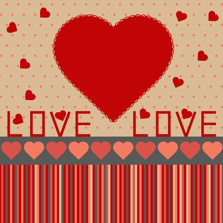 background for valentine Stock Vector - 12007346