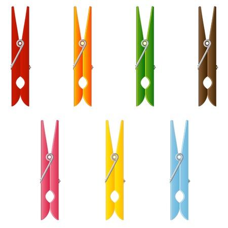 clothes peg: Clothes pin set