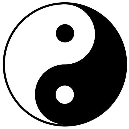 Yin-yang symbol Stock Vector - 15176600