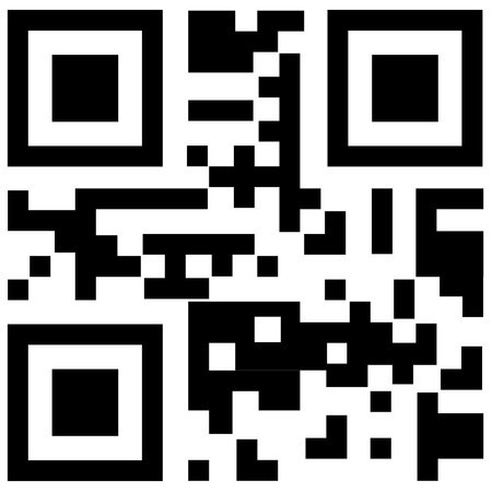 qr code for smart phone  Vector