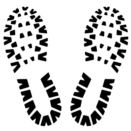 Footstep icon Stock Vector - 17005656