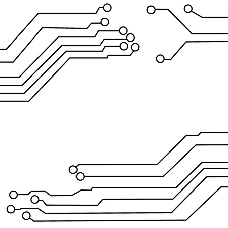 circuit board background texture  Illustration