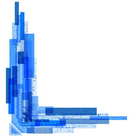 absract: Blue absract sfondo