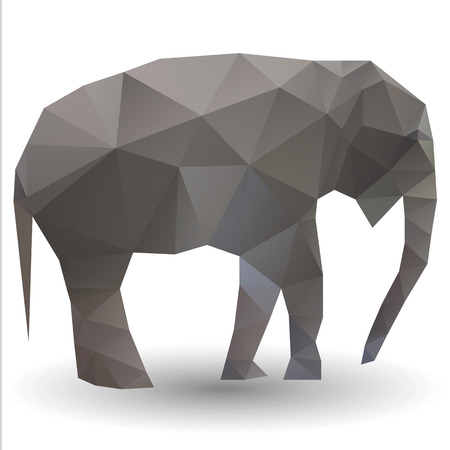 Elephant calf Vector