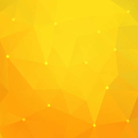 Orange triangle background Illustration