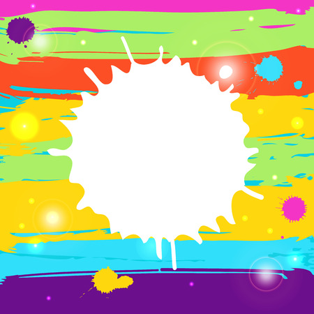 Splash background Stock Vector - 27530947