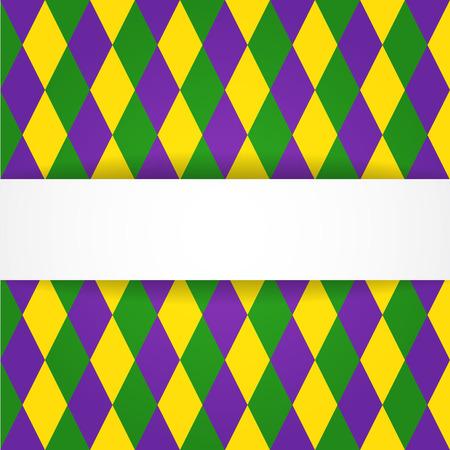 dimond: Dimond background with white banner