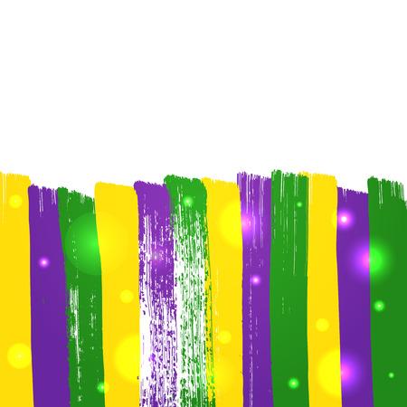 Grunge mardi gras background Ilustração