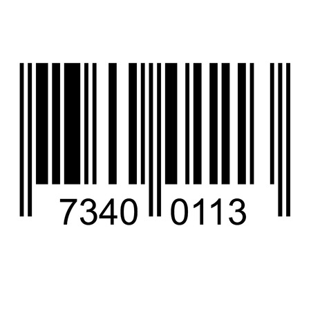 bars code: Bar code with fake numbers