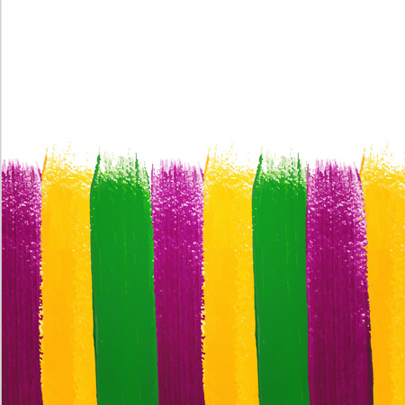 Vector Mardi Gras watercolor background Vector