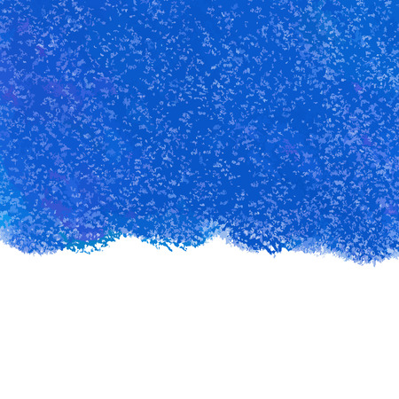 colorful paint: Abstract blue pastel crayon vector background Illustration