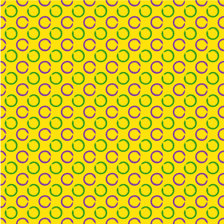 orleans: Mardi Gras seamless pattern