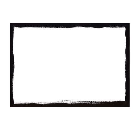 Black grunge frame  イラスト・ベクター素材