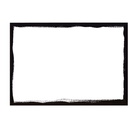 Black grunge frame Vectores