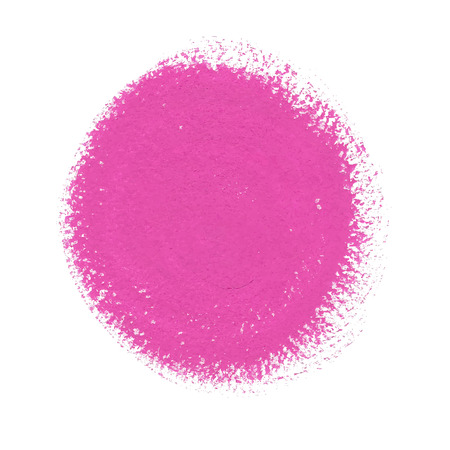Pink acrylic paint vector circle Vector