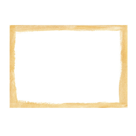 Gold grunge frame