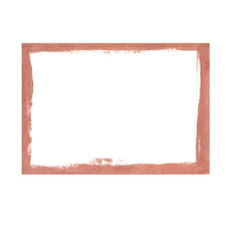 bronze: Bronze grunge frame