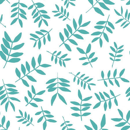 limbs: Background with branch silhouettes. Seamless pattern. Illustration