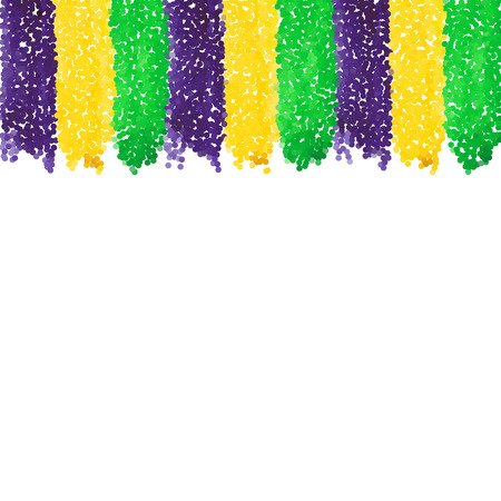 Mardi Gras dot background Illustration