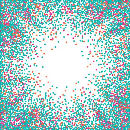 confetti: Abstract flat confetti backdrop