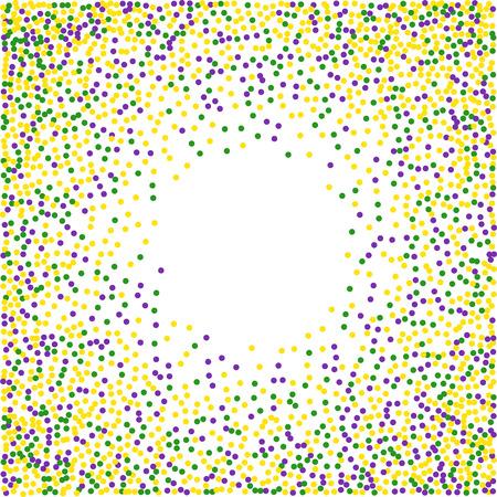 Mardi Gras confetti background