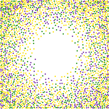 Mardi Gras confettienachtergrond