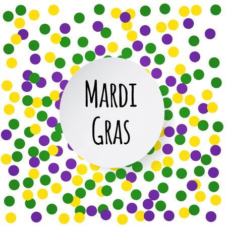 mardi gras background: Mardi Gras background. Illustration