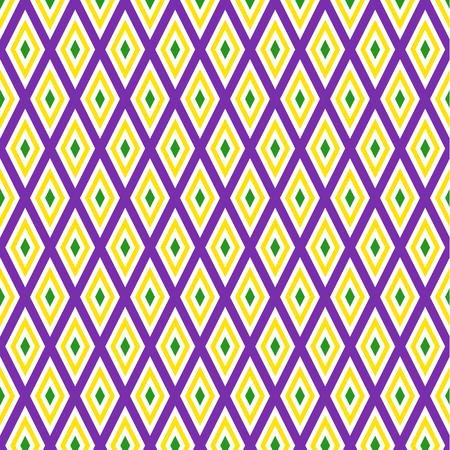 Mardi Gras achtergrond Stock Illustratie