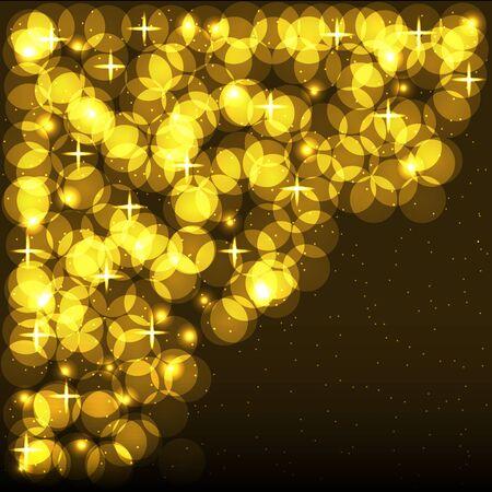 Shining Spotlights. Nightclub & Party Card