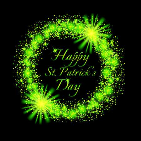 Gelukkig Saint Patrick's Day achtergrond.