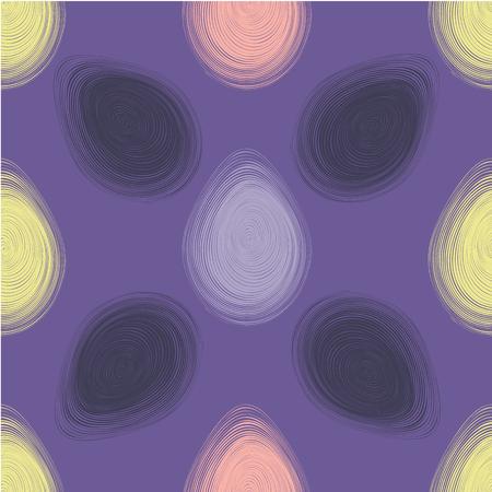 Feliz Páscoa ultra violeta padrão sem emenda. Ilustração vetorial Foto de archivo - 94439210