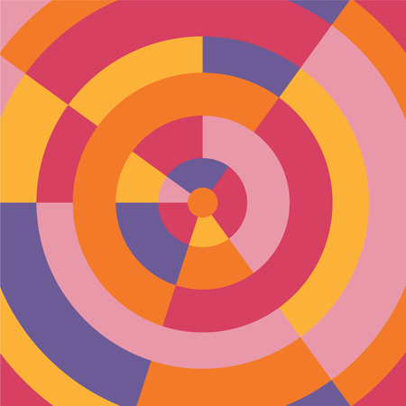 Fundo abstrato moderno colorido do círculo. Ilustração vetorial Foto de archivo - 94451495